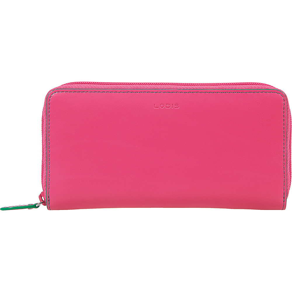 Lodis Audrey Ada Zip Wallet Azalea/Green - Lodis Womens Wallets - Women's SLG, Women's Wallets