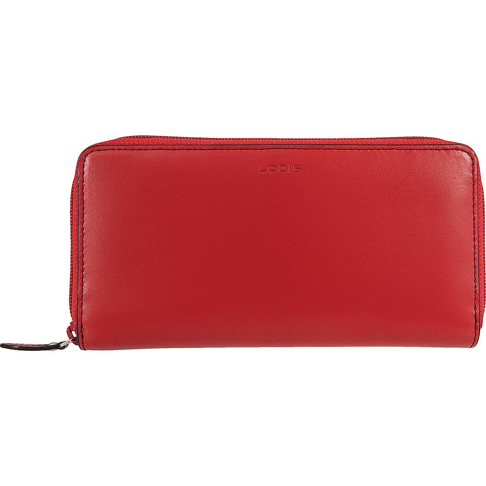 Lodis Audrey Ada Zip Wallet Red - Lodis Womens Wallets - Women's SLG, Women's Wallets