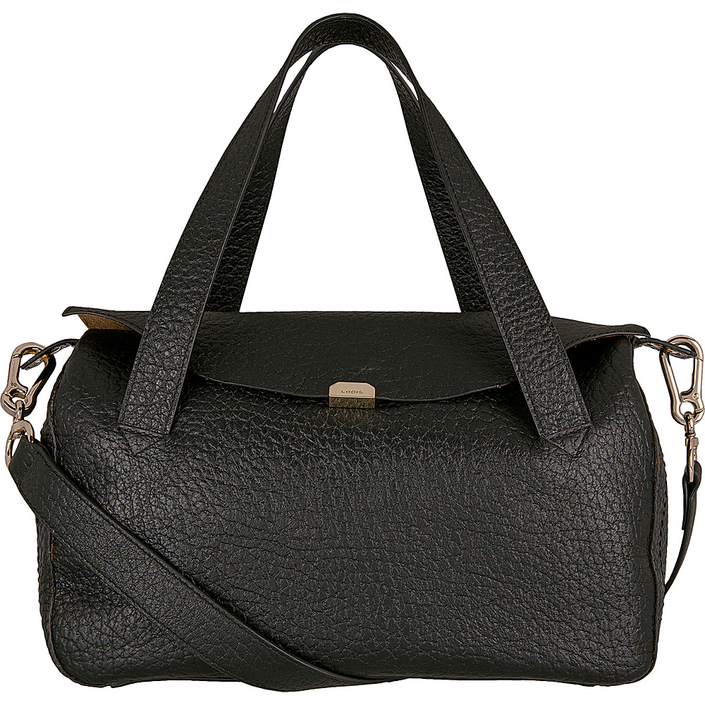 Lodis Borrego Under Lock and Key Oprah Convertible Satchel Black - Lodis Leather Handbags - Handbags, Leather Handbags