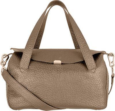 Lodis Borrego Under Lock and Key Oprah Convertible Satchel Taupe - Lodis Leather Handbags