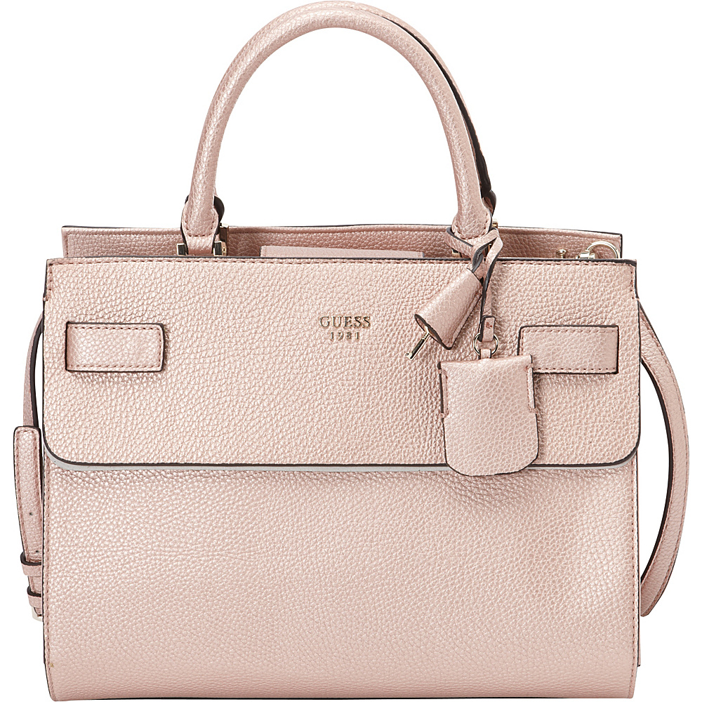 2948e86dd5 ... UPC 885935943383 product image for GUESS Cate Satchel-Metallic Rose Gold  - GUESS Manmade Handbags