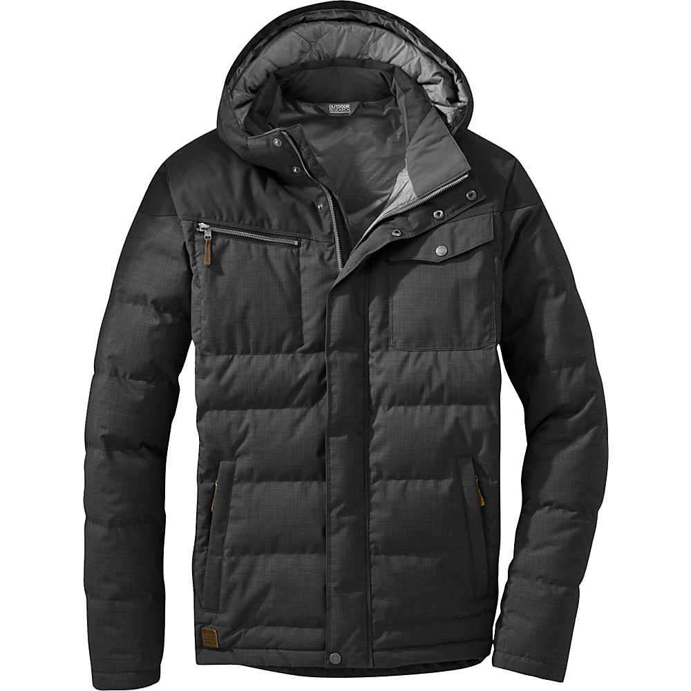 Outdoor Research Whitefish Down Jacket 2XL - Black - Outdoor Research Mens Apparel - Apparel & Footwear, Men's Apparel