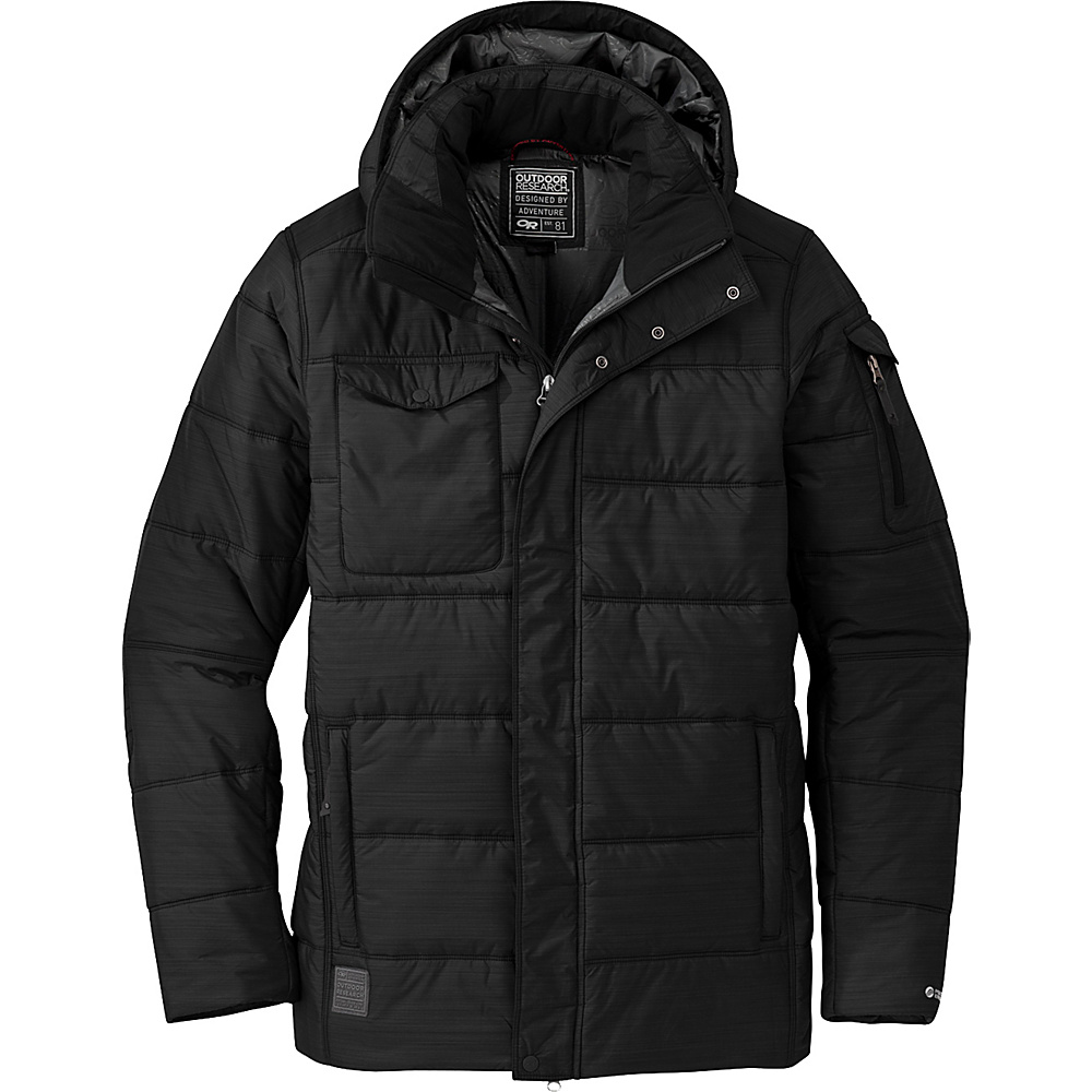 Outdoor Research Ketchum Parka L - Black - Outdoor Research Mens Apparel - Apparel & Footwear, Men's Apparel