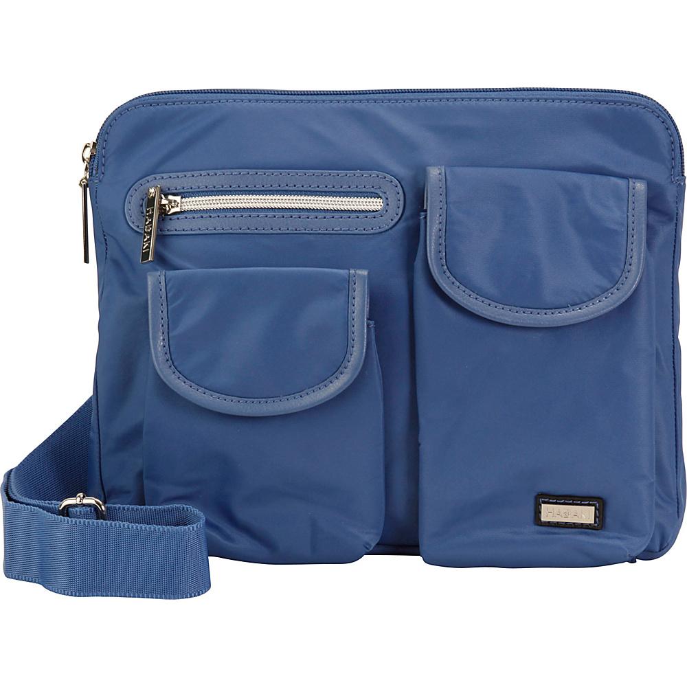 Hadaki Pockets Crossbody Bijou Blue - Hadaki Fabric Handbags - Handbags, Fabric Handbags