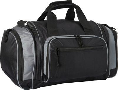 Fox Outdoor Covert-Carry Sport Duffel Black/Grey - Fox Outdoor Sports Duffels