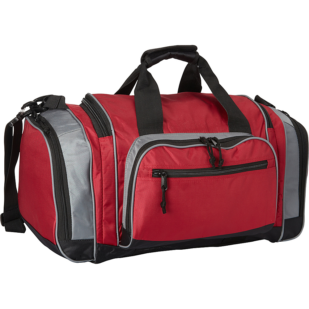 Fox Outdoor Covert Carry Sport Duffel Burgundy Grey Fox Outdoor Gym Duffels