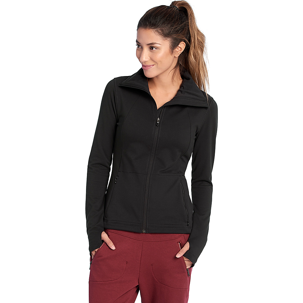 Lole Essential Cardigan XS - Black - Lole Womens Apparel - Apparel & Footwear, Women's Apparel