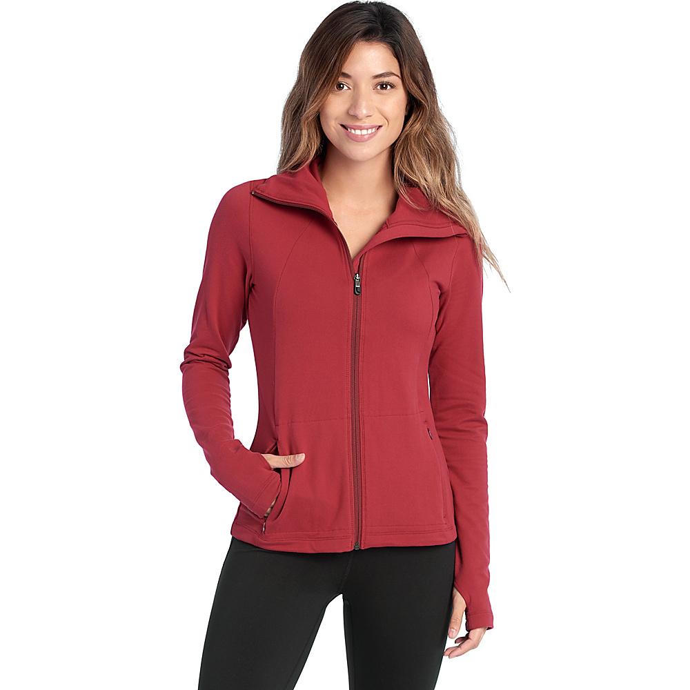 Lole Essential Cardigan XS - Rumba Red - Lole Womens Apparel - Apparel & Footwear, Women's Apparel