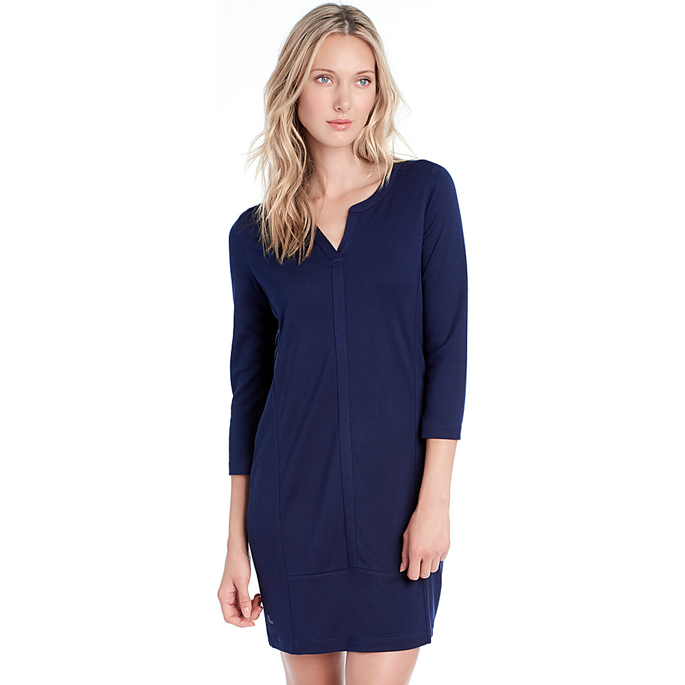 Lole Suri Dress L - Amalfi Blue - Lole Womens Apparel - Apparel & Footwear, Women's Apparel