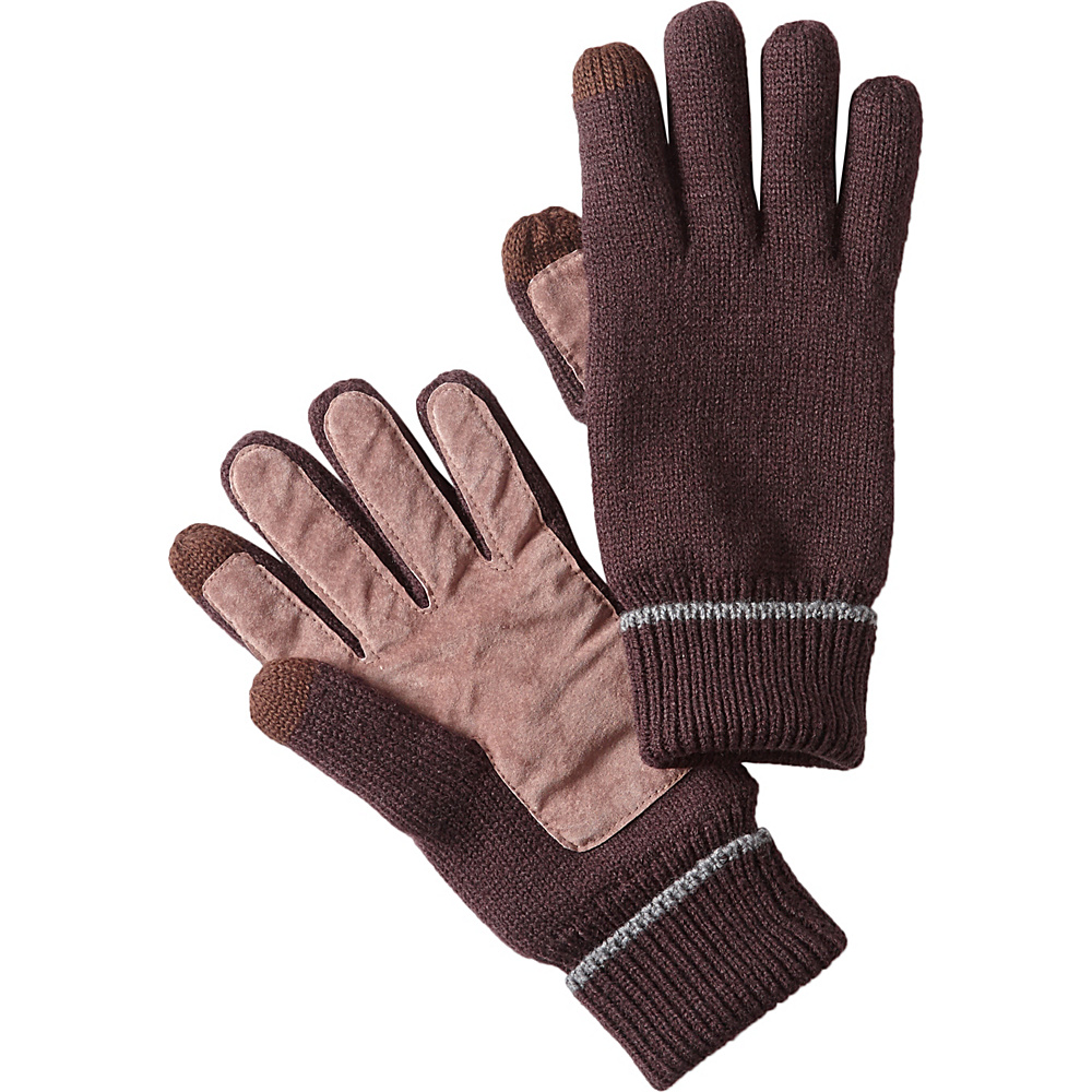 PrAna Kent Mens Gloves One Size - Brown - PrAna Hats/Gloves/Scarves - Fashion Accessories, Hats/Gloves/Scarves