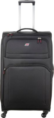 Andare Buenos Aires 29 inch 4 Wheel Spinner Upright Black - Andare Softside Checked