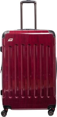 Andare Barcelona 28 inch 8 Wheel Spinner Upright Ruby - Andare Softside Checked
