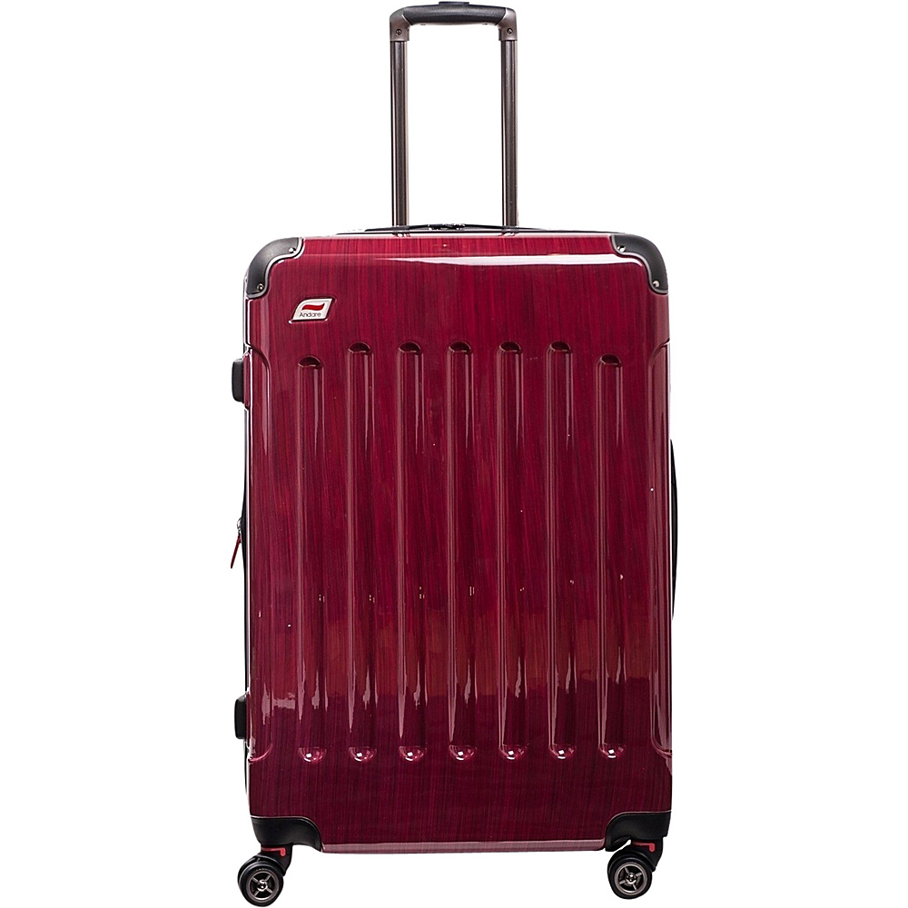 Andare Barcelona 28 8 Wheel Spinner Upright Ruby Andare Softside Checked