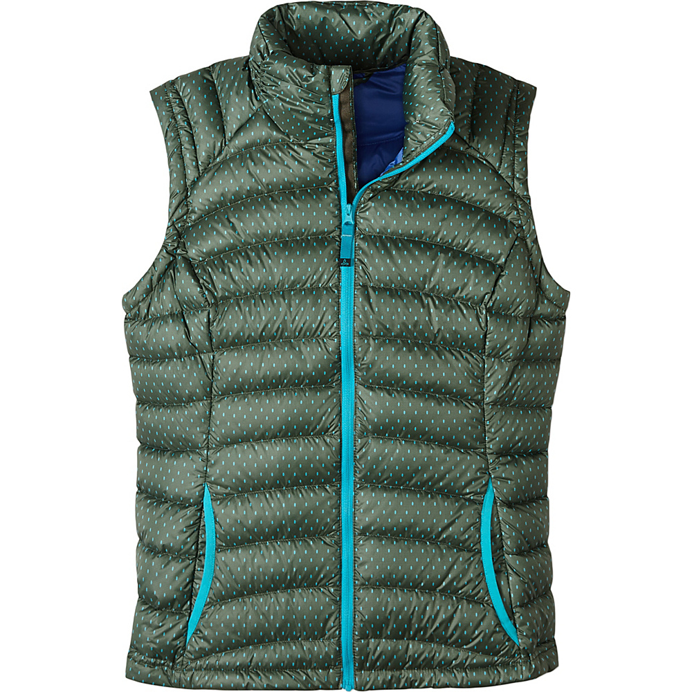 PrAna Lyra Vest L - Cargo A Lot A Dots - PrAna Womens Apparel - Apparel & Footwear, Women's Apparel