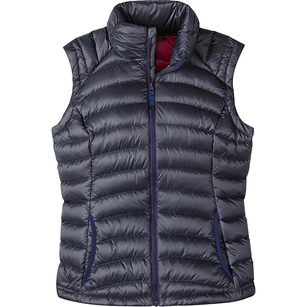 PrAna Lyra Vest M - Coal - PrAna Womens Apparel - Apparel & Footwear, Women's Apparel