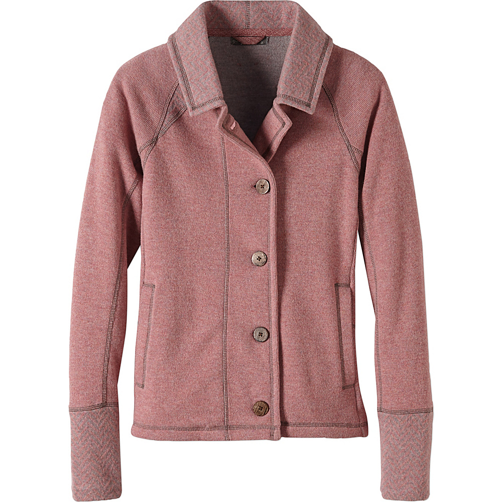 PrAna Lucia Jacket M - Light Mauve - PrAna Womens Apparel - Apparel & Footwear, Women's Apparel