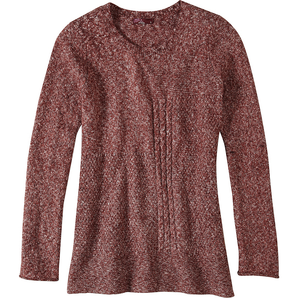 PrAna Nolan Sweater XL - Burgundy - PrAna Womens Apparel - Apparel & Footwear, Women's Apparel