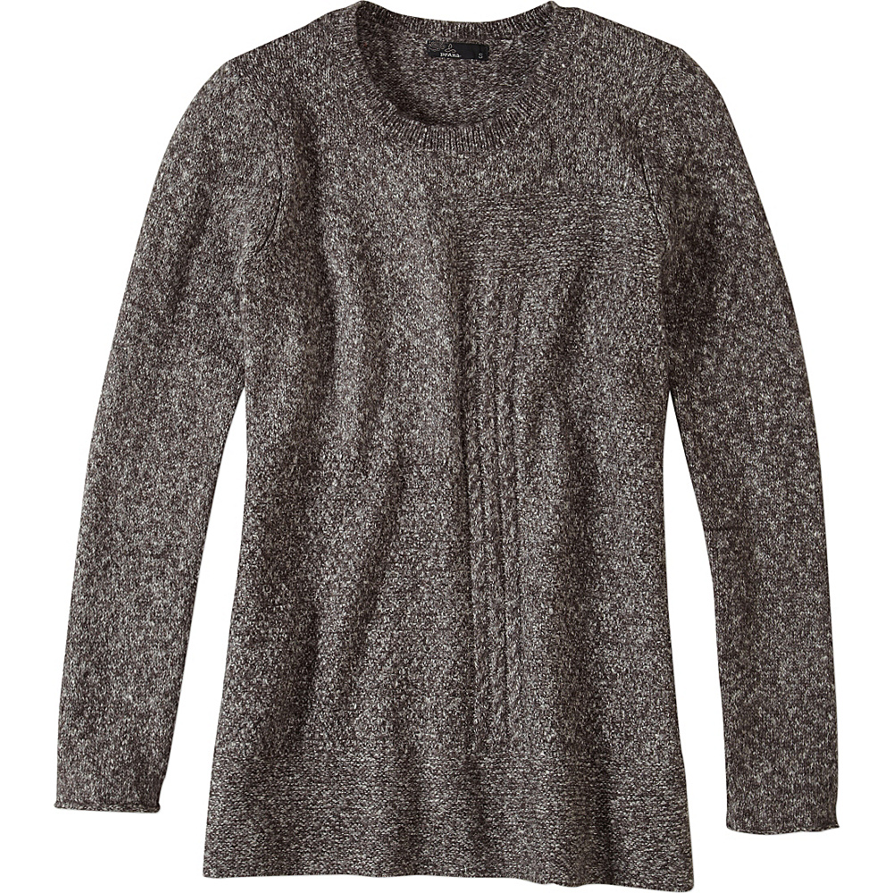 PrAna Nolan Sweater S - Coal - PrAna Womens Apparel - Apparel & Footwear, Women's Apparel
