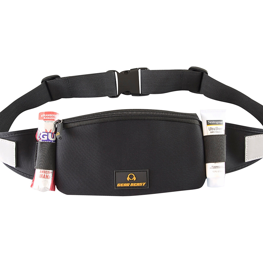 Gear Beast Waist Pack Running Belt Black Gear Beast Designer Handbags