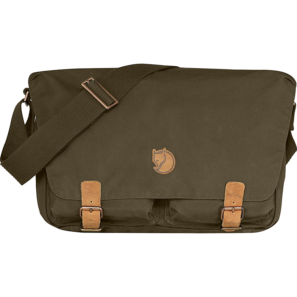 Fjallraven Ovik Shoulder Bag Dark Olive - Fjallraven Other Mens Bags - Work Bags & Briefcases, Other Men's Bags
