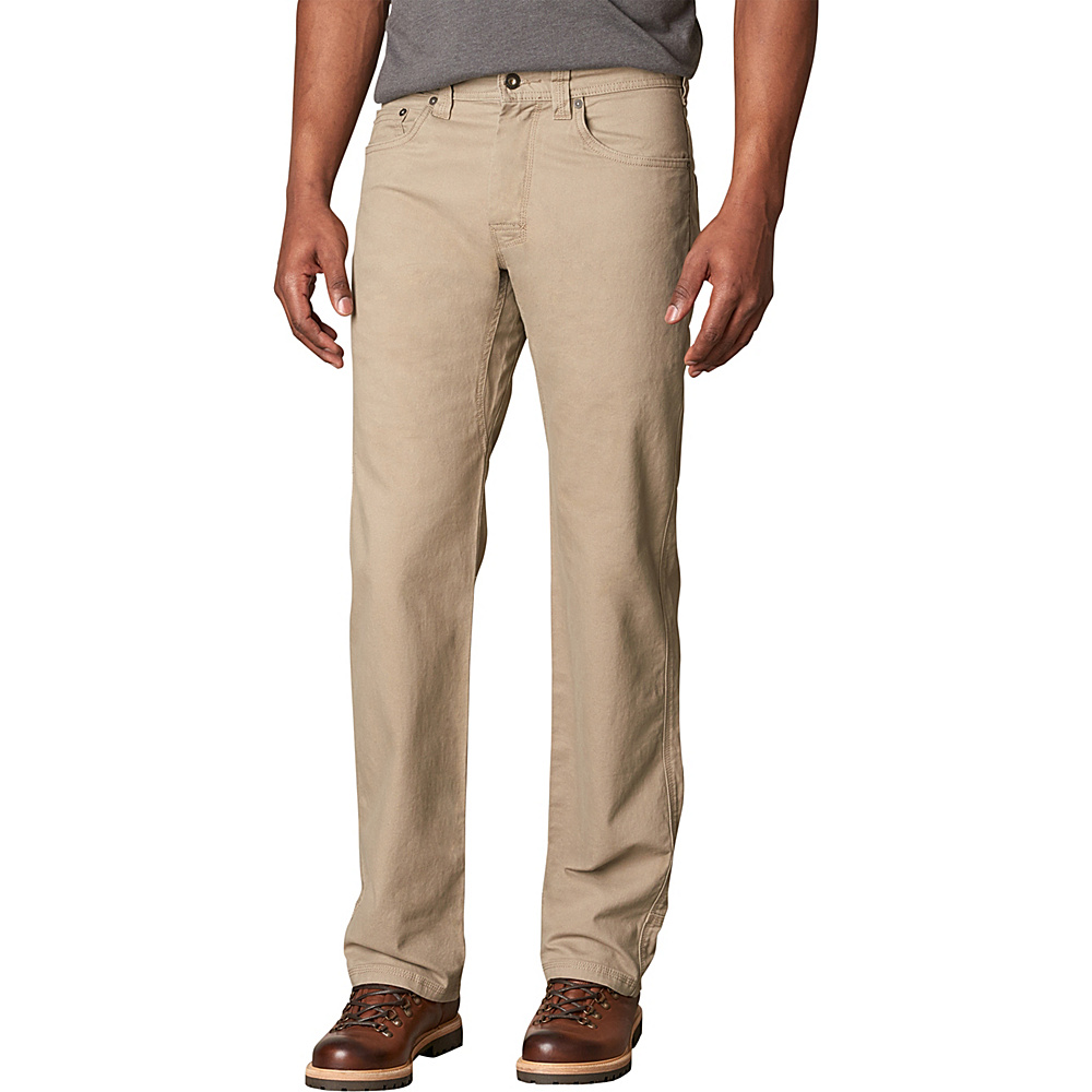 PrAna Bronson Pants - 36 Inseam 28 - Dark Khaki - PrAna Mens Apparel - Apparel & Footwear, Men's Apparel