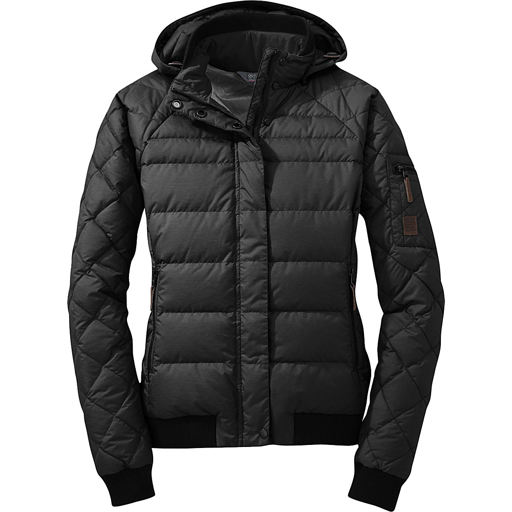 Outdoor Research Womens Placid Down Jacket M - Black - Outdoor Research Womens Apparel - Apparel & Footwear, Women's Apparel