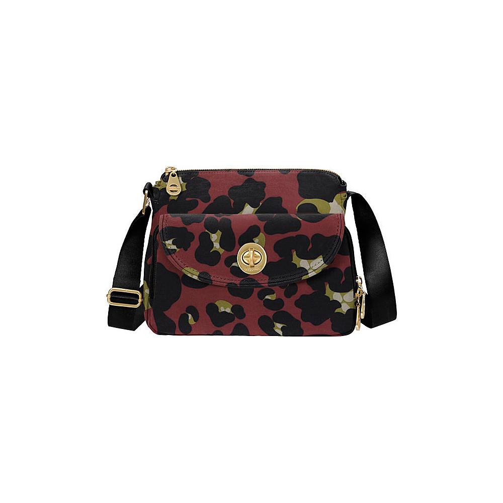 baggallini Provence Crossbody - Retired Prints Scarlet Cheetah - baggallini Fabric Handbags