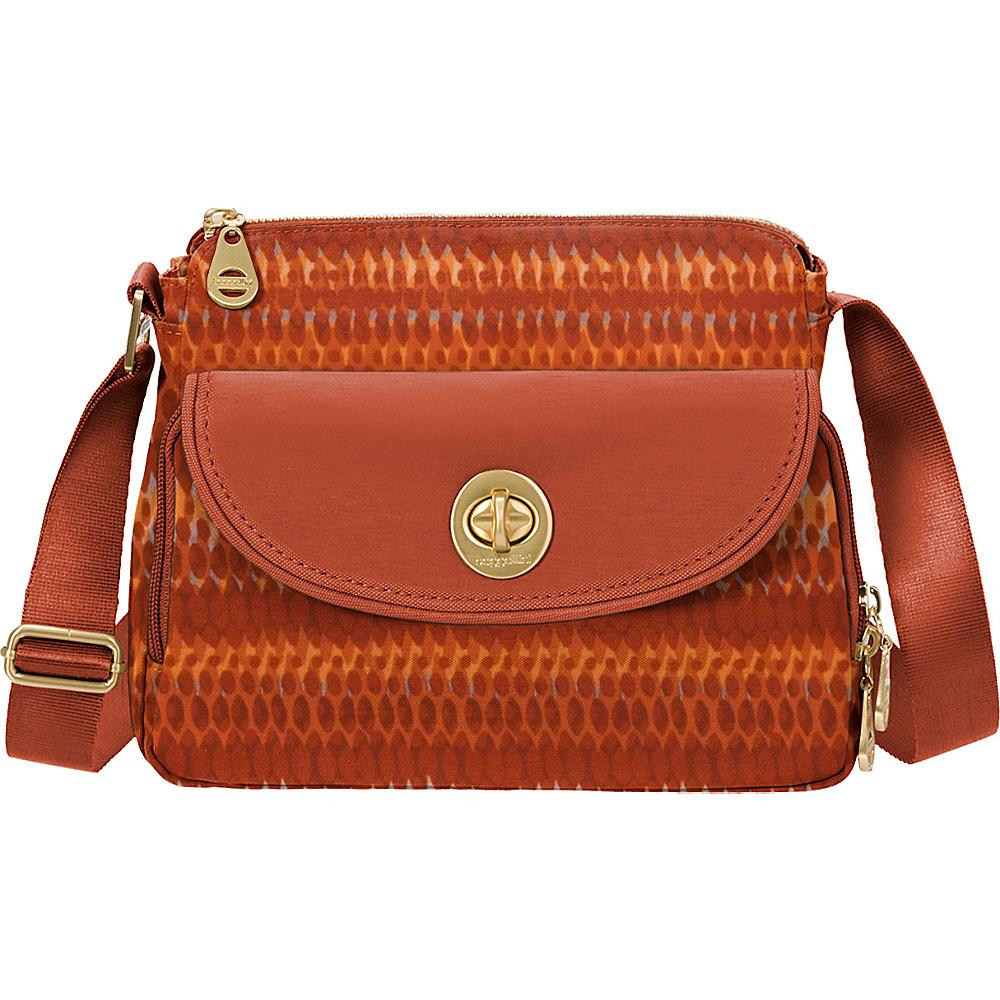 baggallini Provence Crossbody - Retired Prints Flame Print - baggallini Fabric Handbags - Handbags, Fabric Handbags