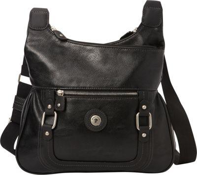 Mouflon Original RFID Generation Hobo Black/Black - Mouflon Original Manmade Handbags