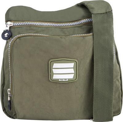 Suvelle Small City Travel/Everyday Shoulder Bag Khaki - Suvelle Fabric Handbags