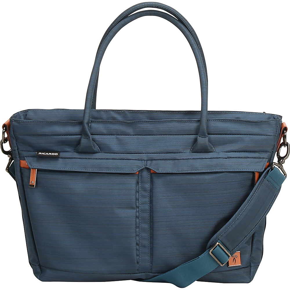 "Ricardo Beverly Hills San Marcos 18"" Tote Mid Teal - Ricardo Beverly Hills Luggage Totes and Satchels"