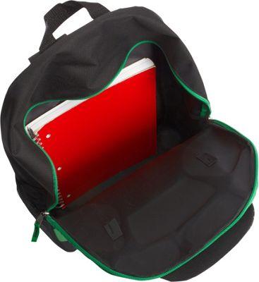 """Teenage Mutant Ninja Turtles Skateboard 17"""""""" Backpack Green - Teenage Mutant Ninja Turtles Everyday Backpacks"""