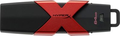 Kingston HyperX Savage USB Flash Drive 64GB Black - Kingston Electronic Accessories