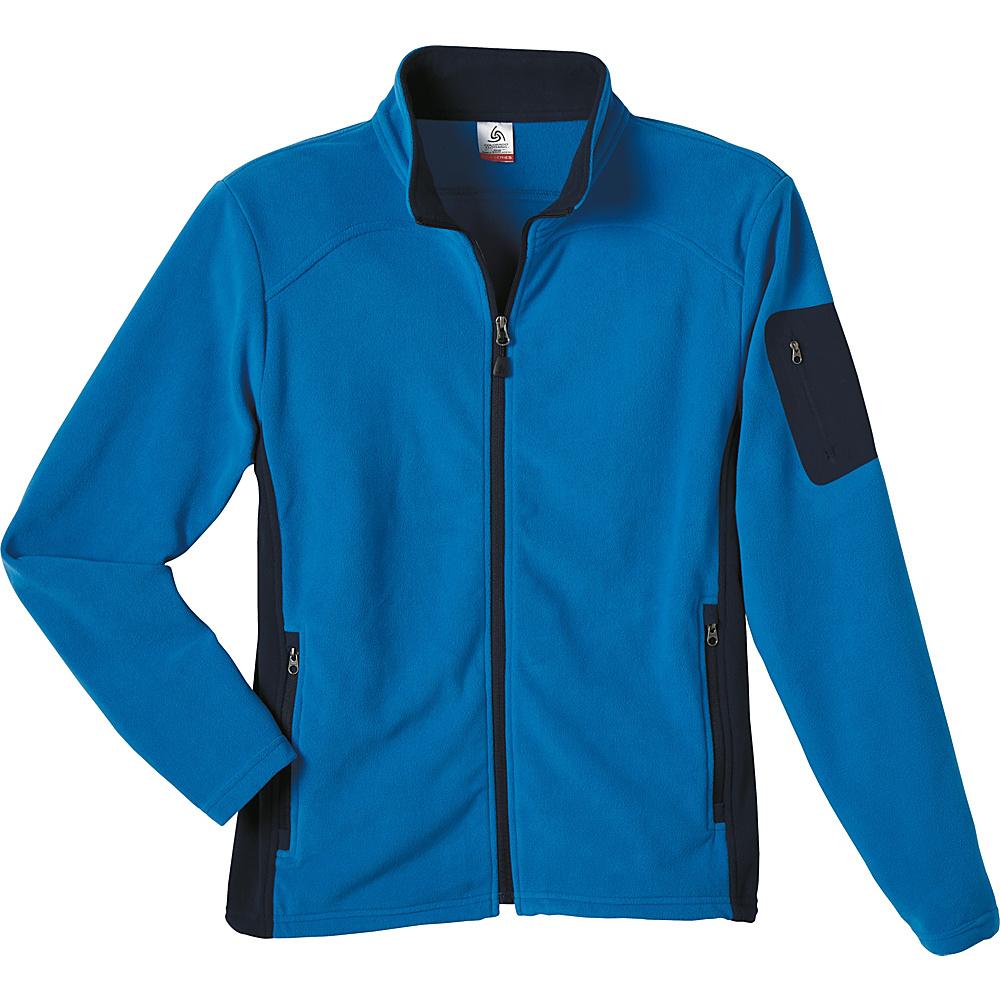 Colorado Clothing Mens Pikes Peak Jacket S Marble Blue Colorado Clothing Men s Apparel