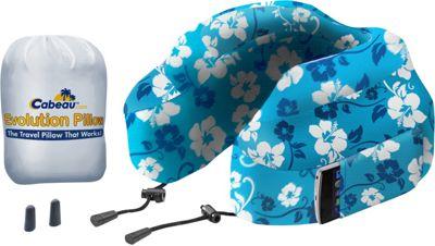 Cabeau Evolution Pillow Blue Tropic - Cabeau Travel Pillows & Blankets