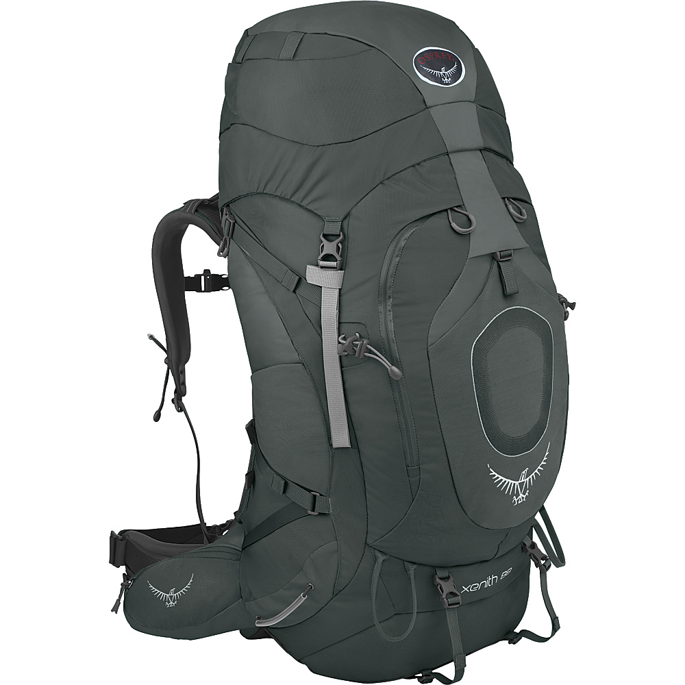 Osprey Xenith 105 Backpack Graphite Grey - MD - Osprey Backpacking Packs - Outdoor, Backpacking Packs