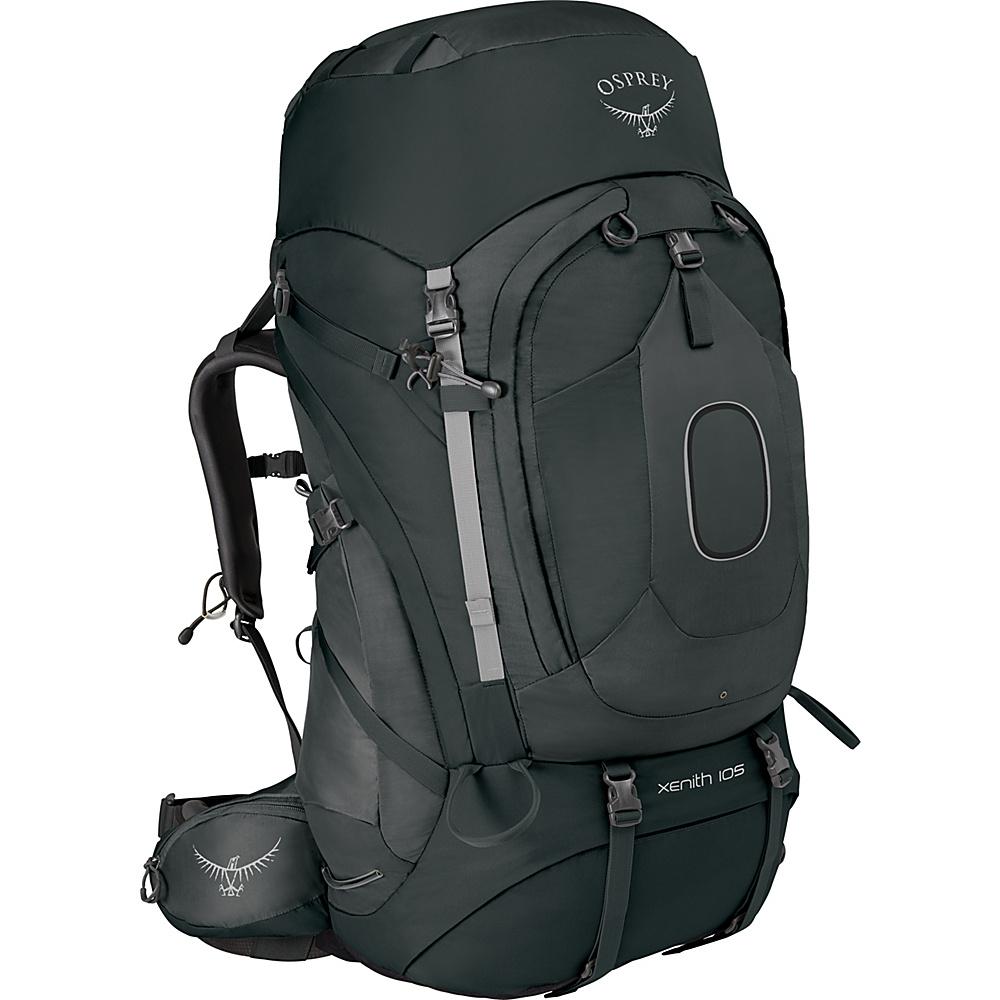 Osprey Xenith 105 Backpack Tektite Grey – MD - Osprey Backpacking Packs - Outdoor, Backpacking Packs