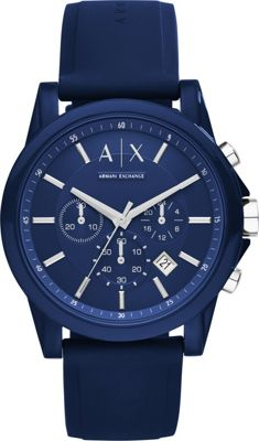 Image of A/X Armani Exchange Active Watch Blue - A/X Armani Exchange Watches