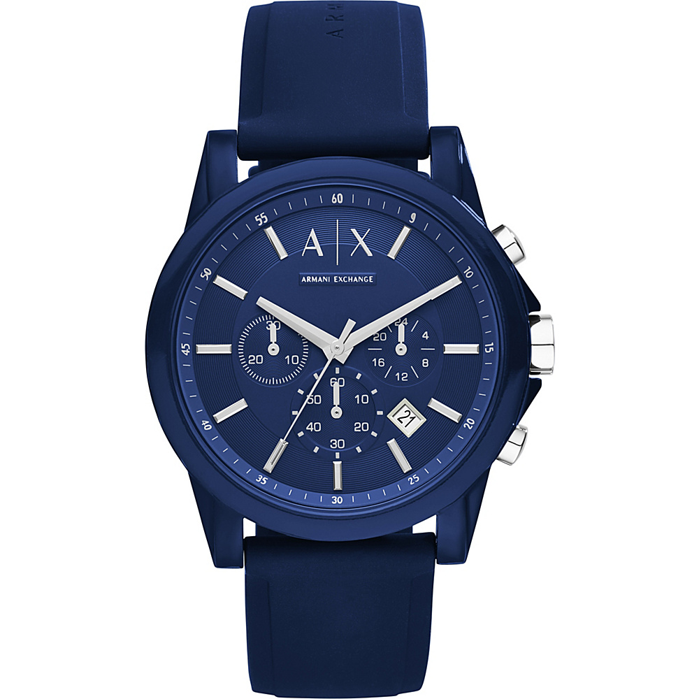 A X Armani Exchange Active Watch Blue A X Armani Exchange Watches