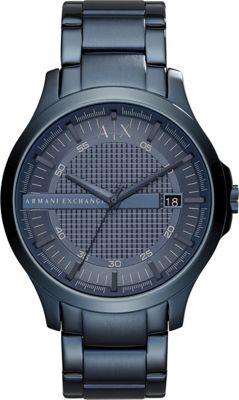 A/X Armani Exchange Smart Watch Blue - A/X Armani Exchange Watches