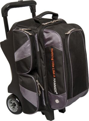 Hammer Premium Double Roller Bowling Tote Carbon - Hammer Bowling Bags