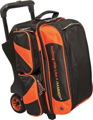Hammer Premium Double Roller Bowling Tote Orange - Hammer Bowling Bags