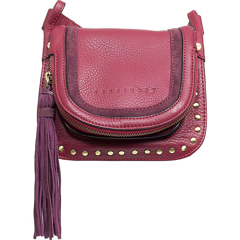 Sanctuary Handbags Studded Lux Bohemian Saddle Crossbody Brooklyn Brick Sanctuary Handbags Designer Handbags