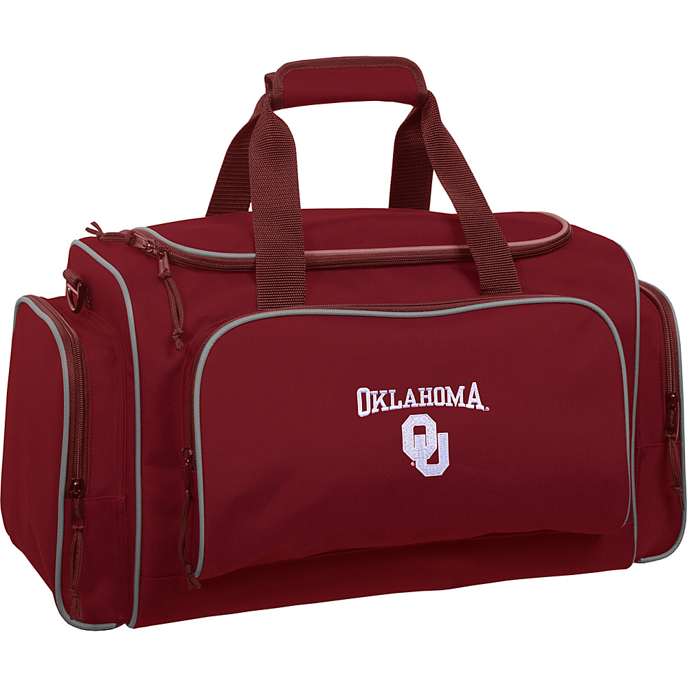 Wally Bags Oklahoma Sooners 21 Duffel Red Wally Bags Travel Duffels