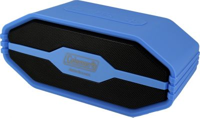 Coleman SoundTrail Mini Water Resistant Bluetooth Speaker Blue - Coleman Headphones & Speakers