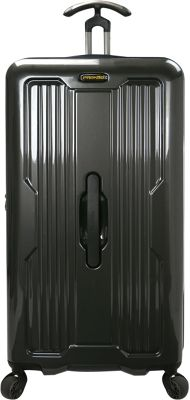 PROKAS Ultimax 30 inch Spinner Trunk Luggage Charcoal - PROKAS Hardside Checked