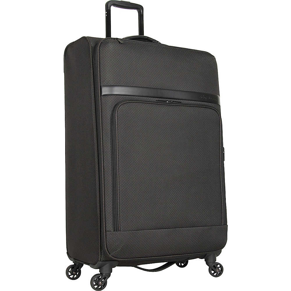 Ben Sherman Luggage York Collection 28 Upright Luggage Dark Forest Herringbone Ben Sherman Luggage Softside Checked