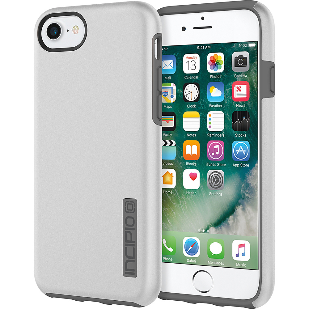 Incipio DualPro for iPhone 7 Iridescent Silver/Charcoal(SVC) - Incipio Electronic Cases - Technology, Electronic Cases