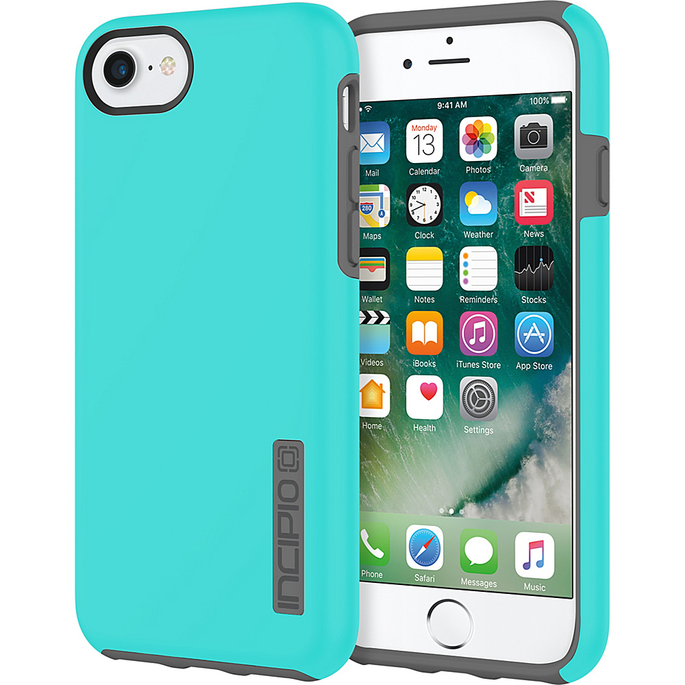 Incipio DualPro for iPhone 7 Turquoise/Charcoal(TQC) - Incipio Electronic Cases - Technology, Electronic Cases