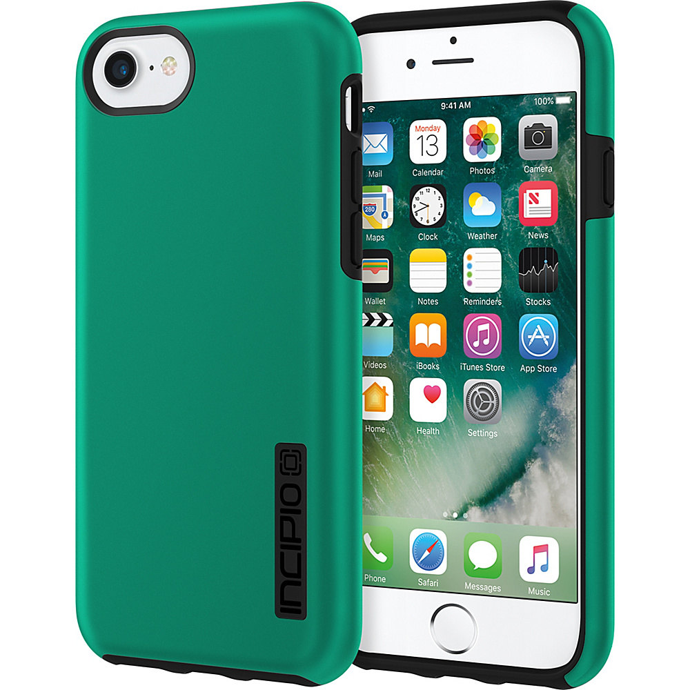 Incipio DualPro for iPhone 7 Iridescent Emerald Green/Black(EGB) - Incipio Electronic Cases - Technology, Electronic Cases